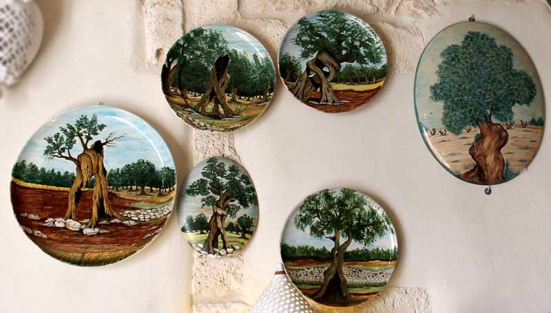 Complementi di arredo artigianale in ceramica ostuni puglia for Comodini grezzi da decorare
