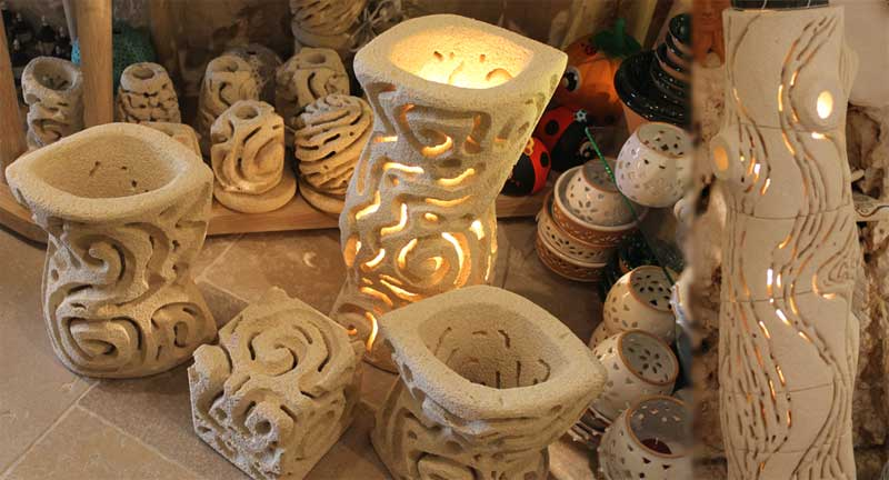 Illuminazione in ceramica - Lampade da tavolo in ceramica ...