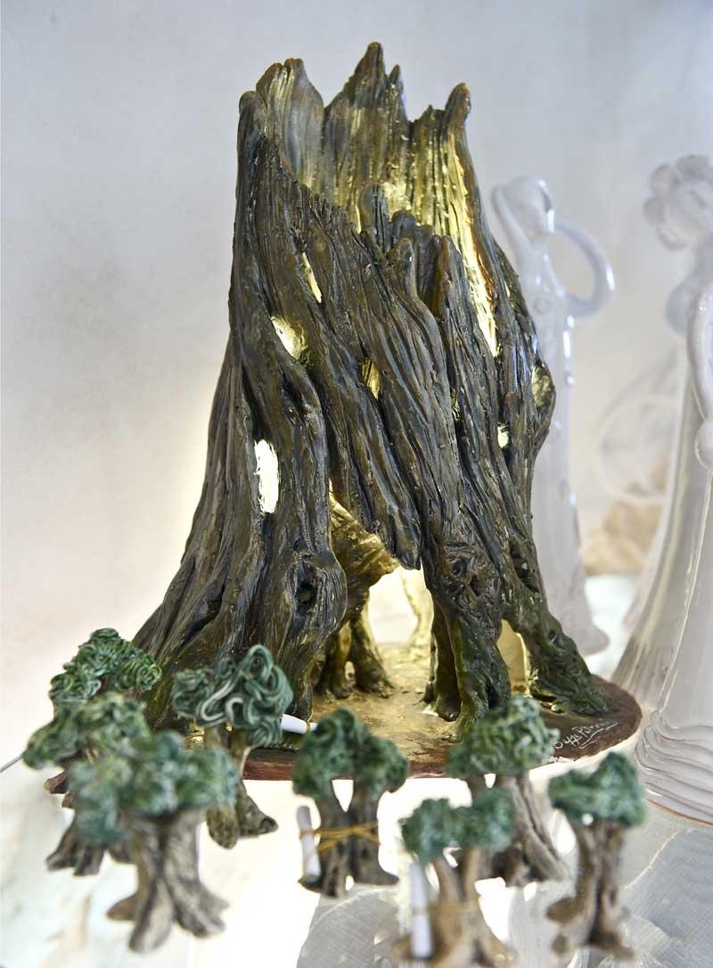 Lampade Artigianali Rame: Lampade artigianali in legno e carta.
