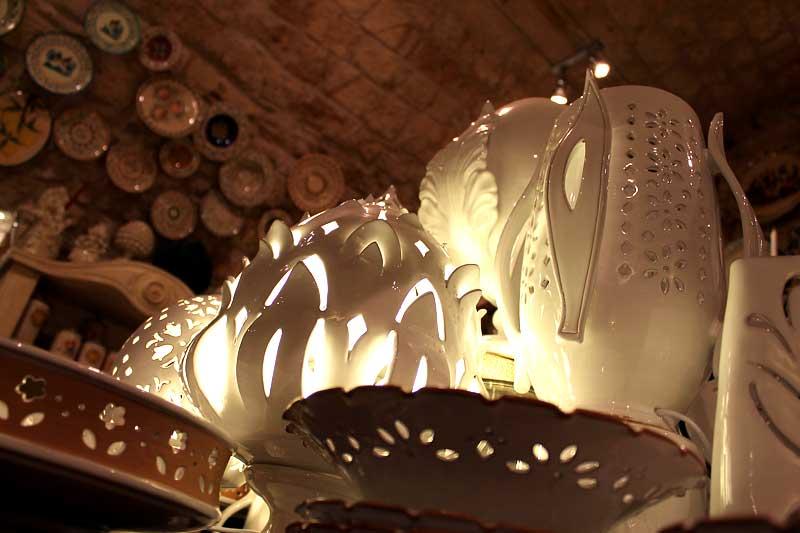Lampade in terracotta da esterno applique a parete per interno